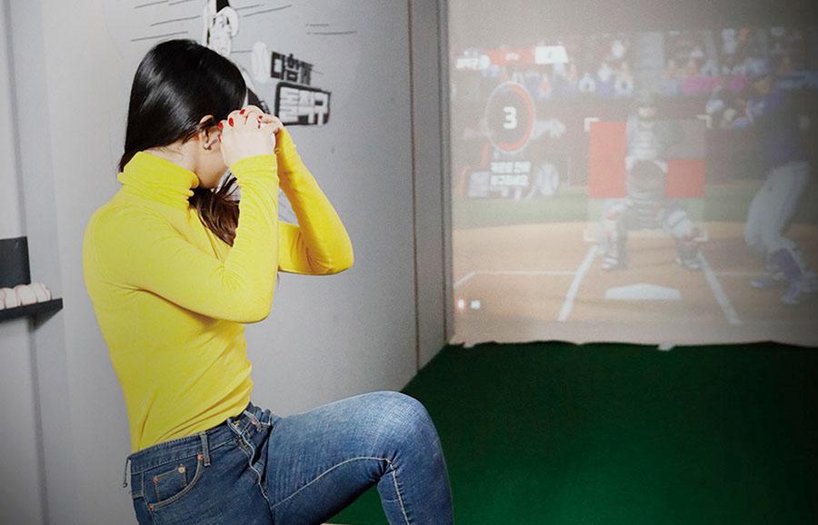 韩国投手游戏