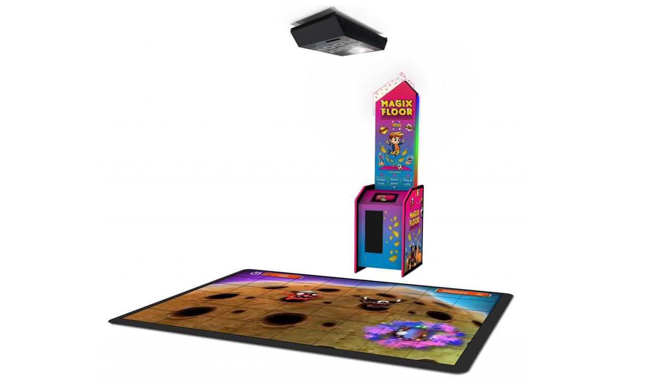 3D互动投影游戏