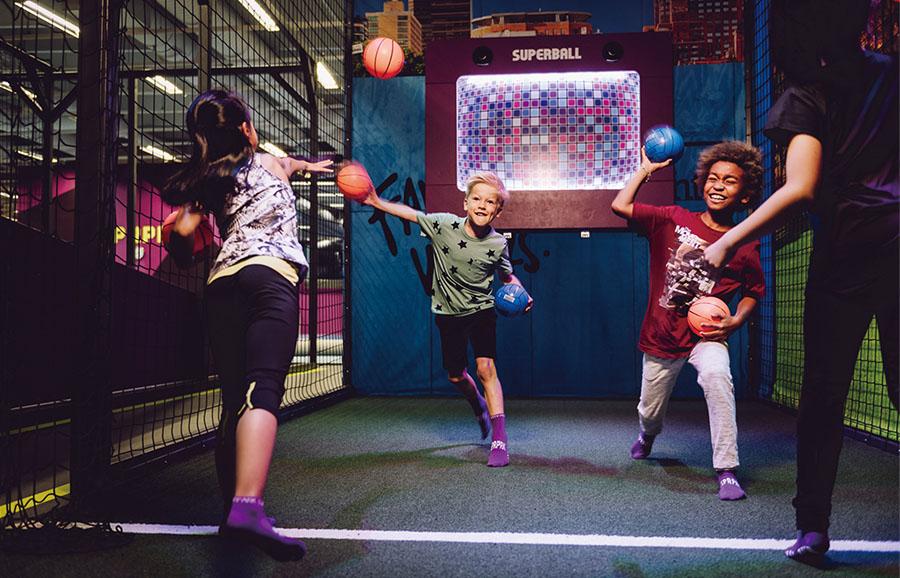 互动对打球