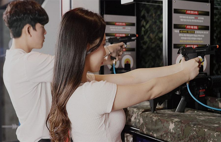韩国模拟射击