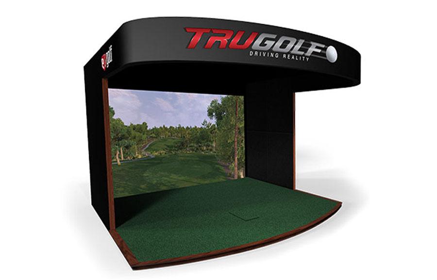 美国E6高尔夫模拟器