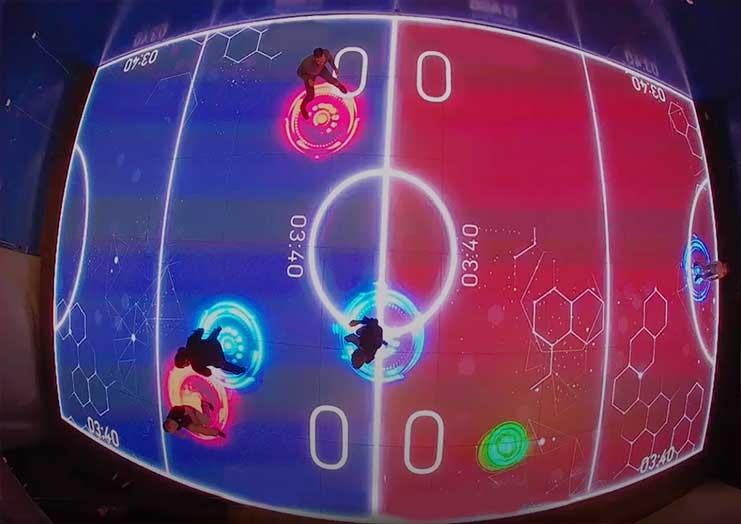 交互式体育和游戏相结合