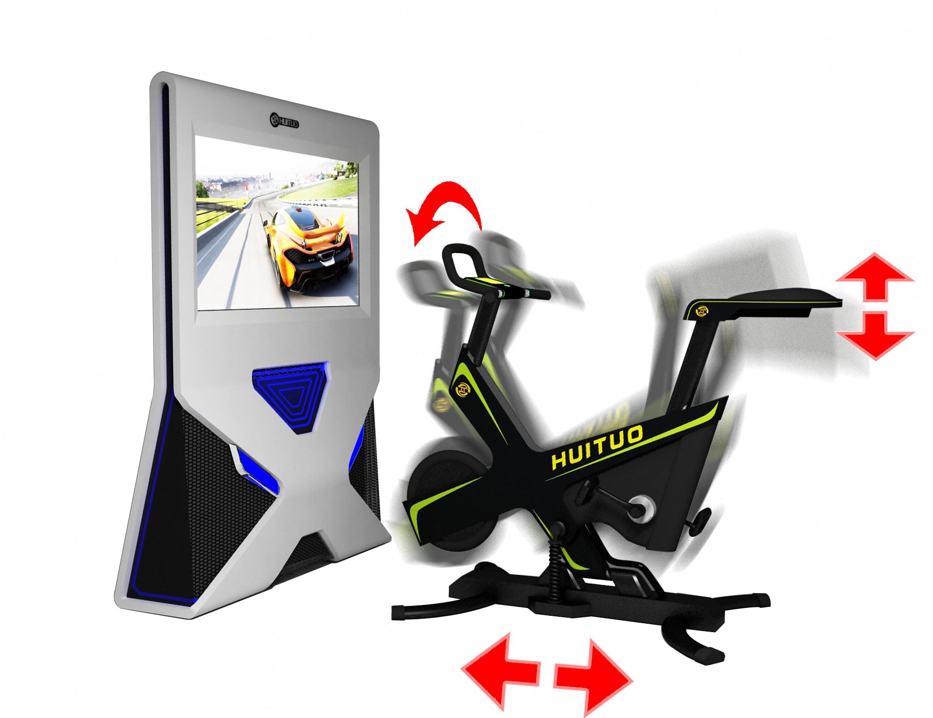 模拟自行车产品图