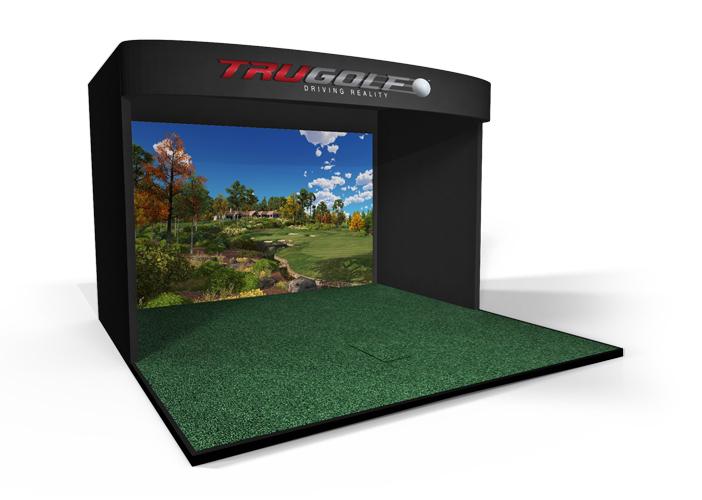05-E6高尔夫专业版室内高尔夫模拟器