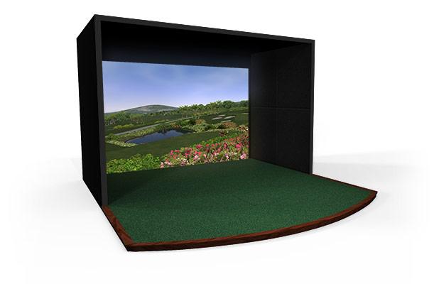 06-E6高尔夫豪华款室内高尔夫