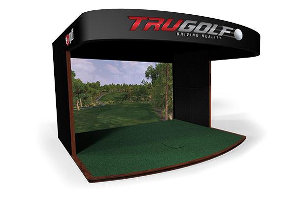 07-E6高尔夫总统豪华型室内高尔夫模拟器