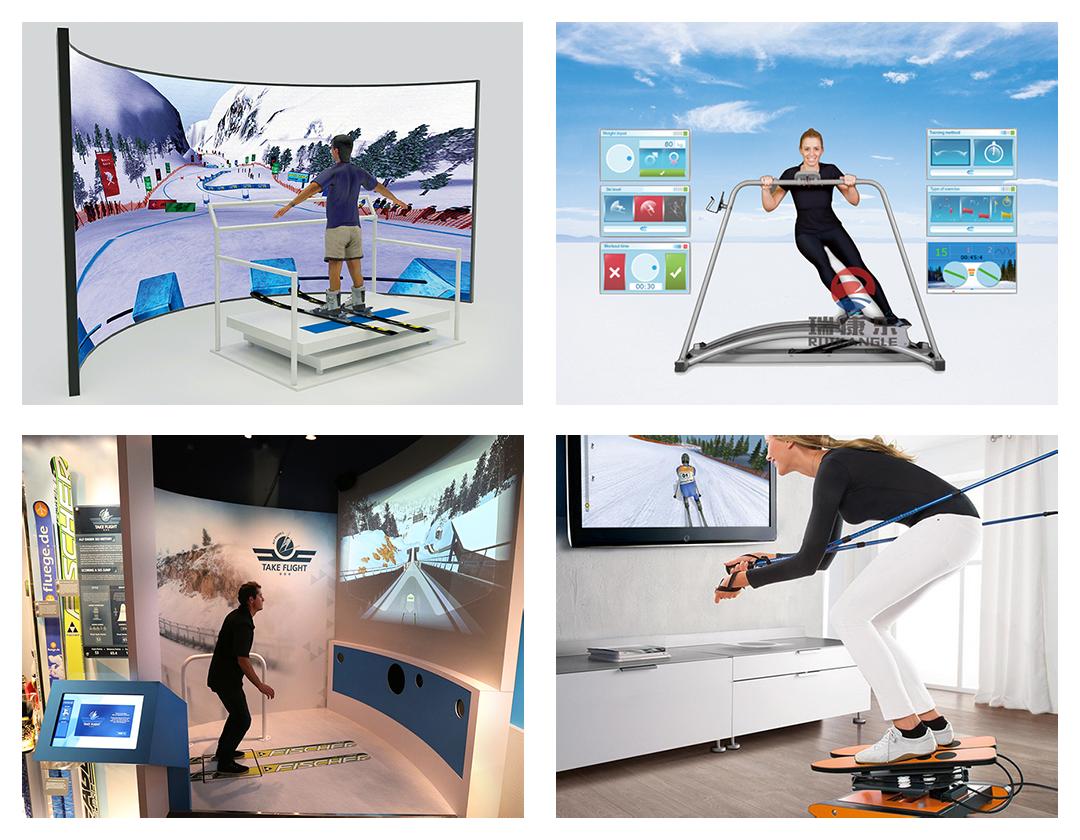模拟滑雪配图